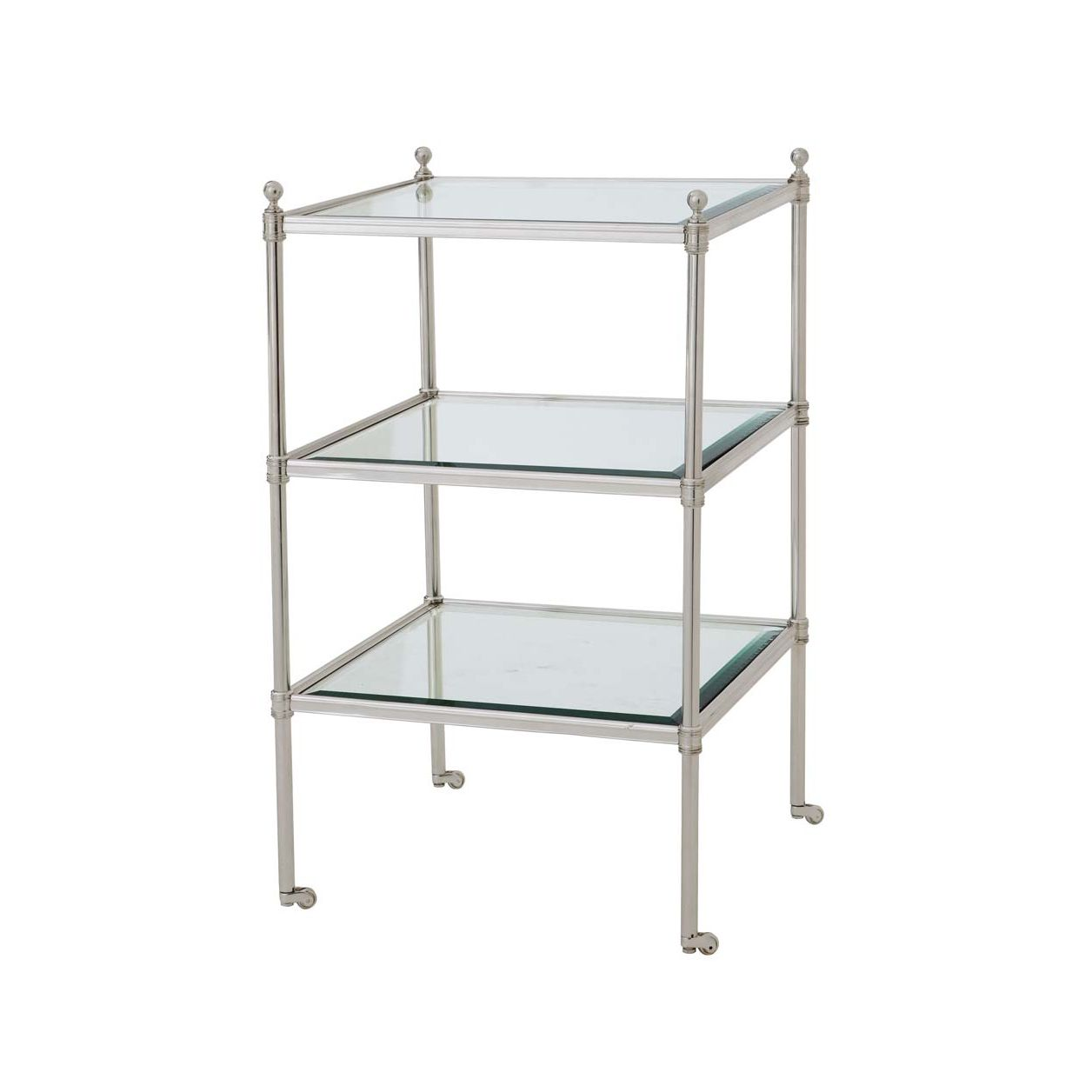 Kaufman Side Table - Silver