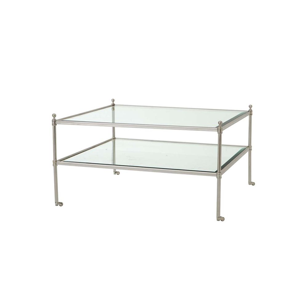 Kaufman Coffee Table - Silver