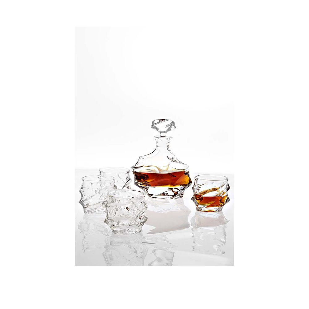 Lamont Crystal Decanter Set
