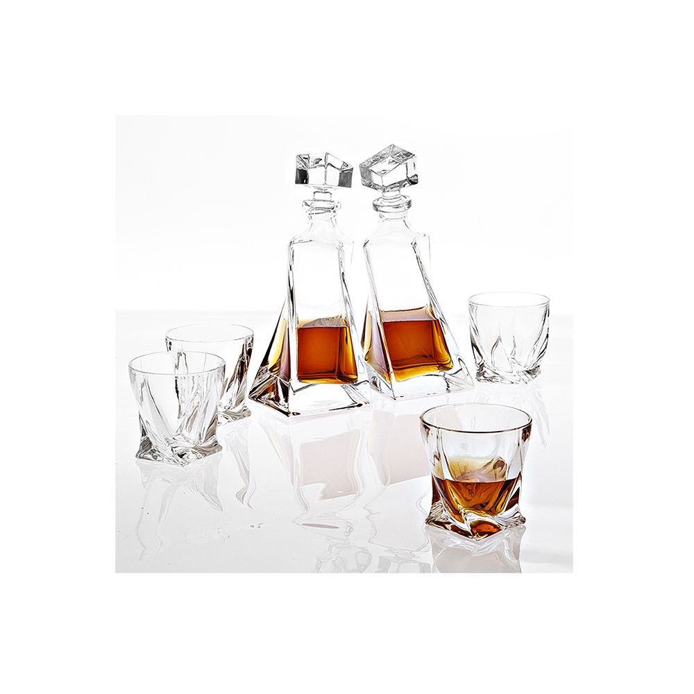 Mulino Crystal Decanter Set