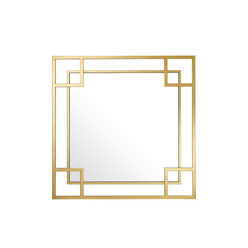 Hoffman Mirror - Gold