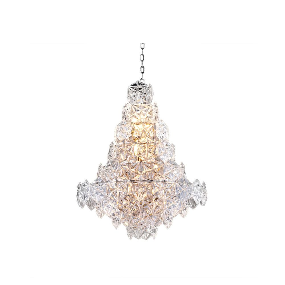 Plaza Crystal Chandelier, Small