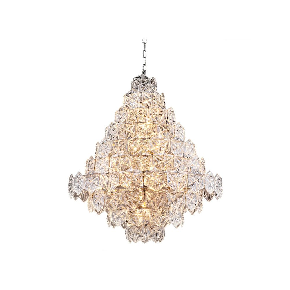 Plaza Crystal Chandelier, Large