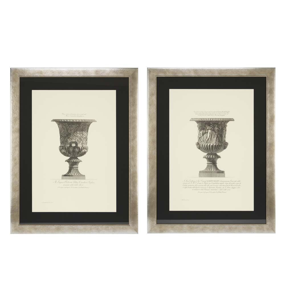 Vase Etchings, Rome 1791, Prints, Set of 2