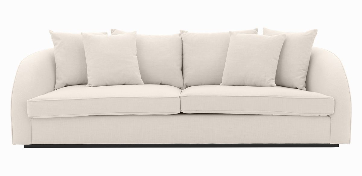 """Solow Sofa - Off White, 100"""""""
