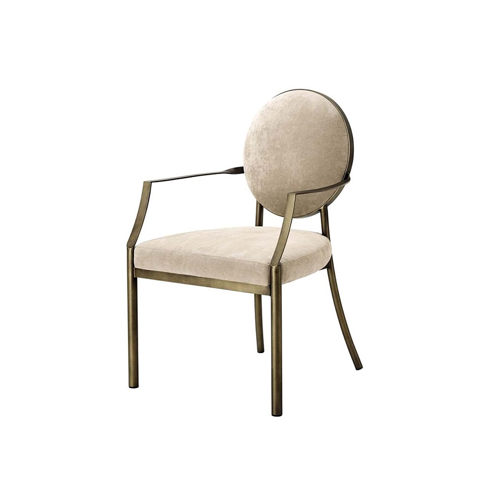 Chapel Dining Chair with Arms