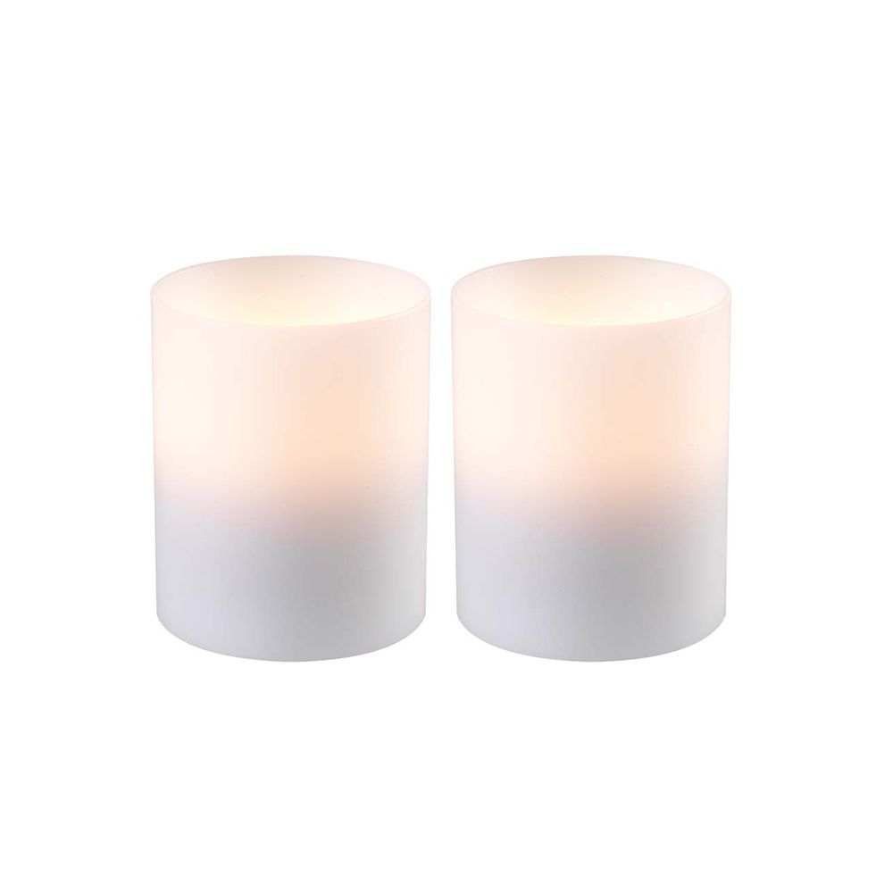 Artificial Candles, Small, Set of 2