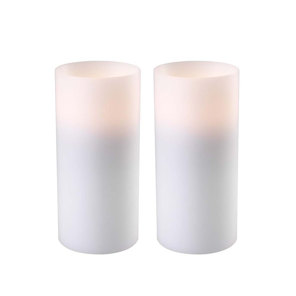 Artificial Candles, Large, Set of 2