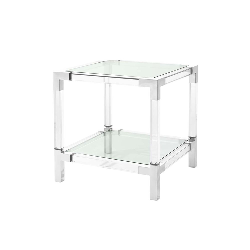 Ardsley Side Table - Stainless Steel