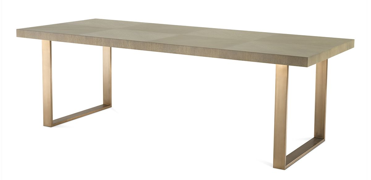 Barnett Dining Table - Washed Oak, 90""