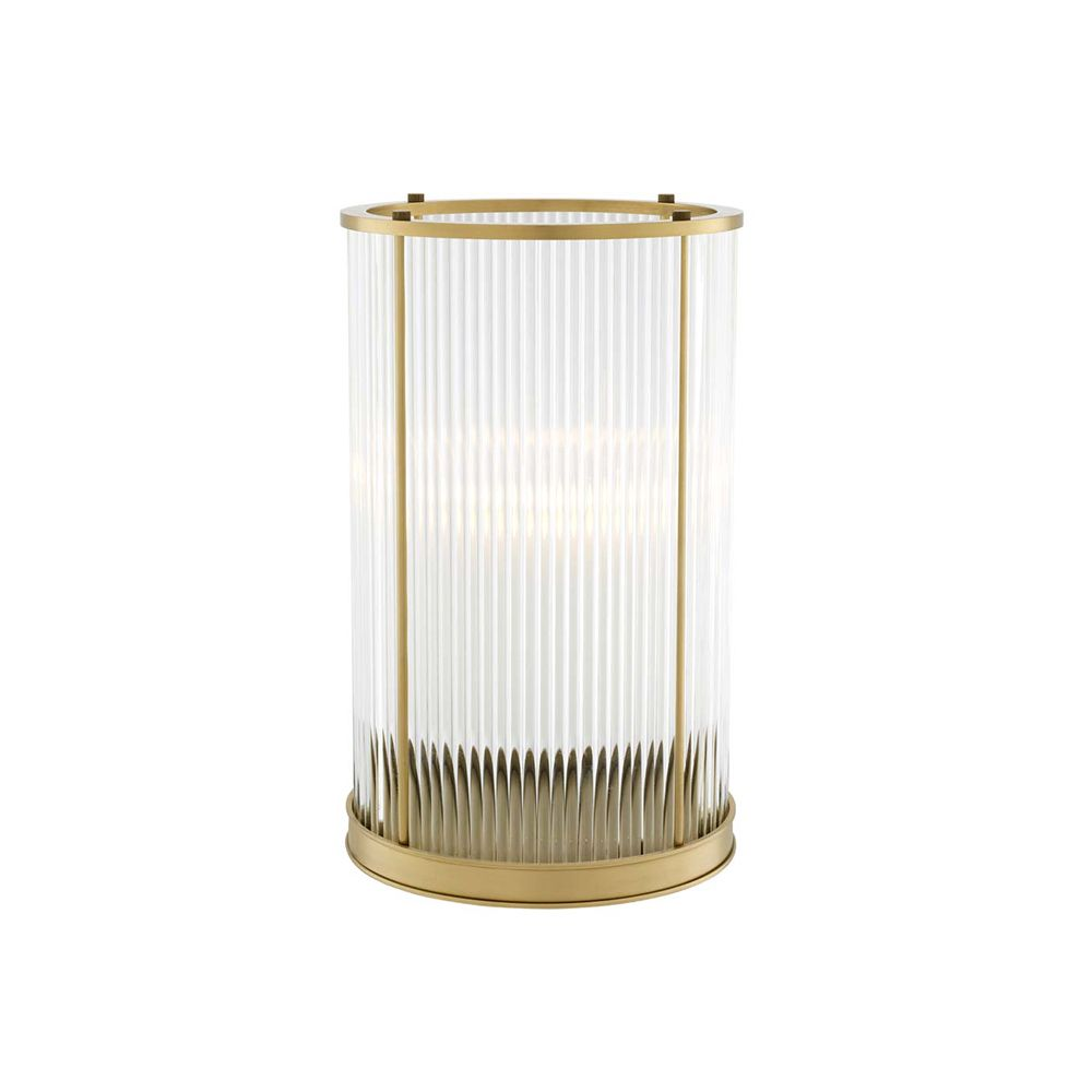Dixon Hurricane Candle Holder - Brass, Large