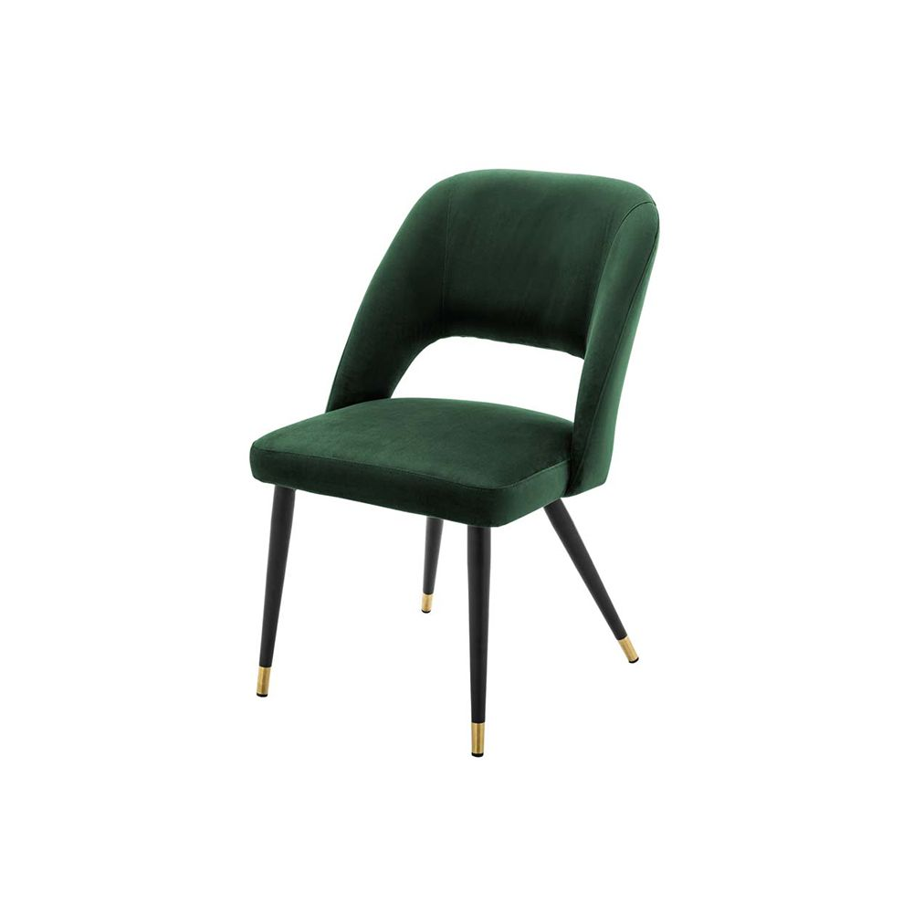 Bradford Velvet Dining Chair - Emerald