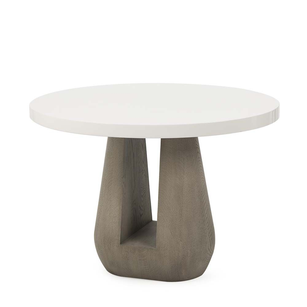 Faust Oval Side Table