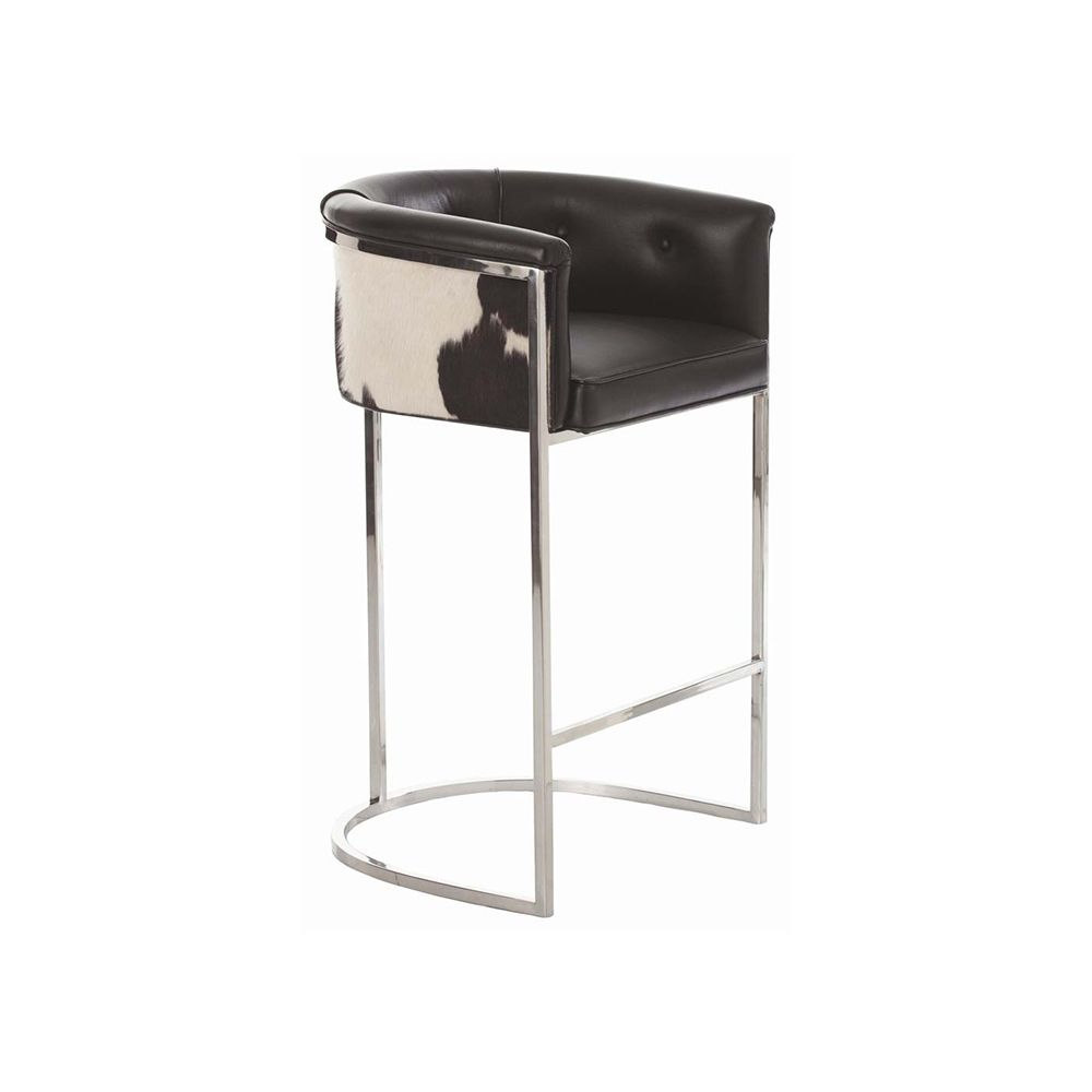 Barret Cowhide Bar Stool