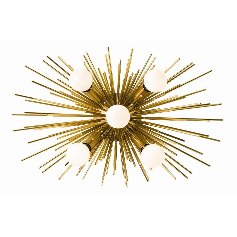Burston Sconce - Antique Brass
