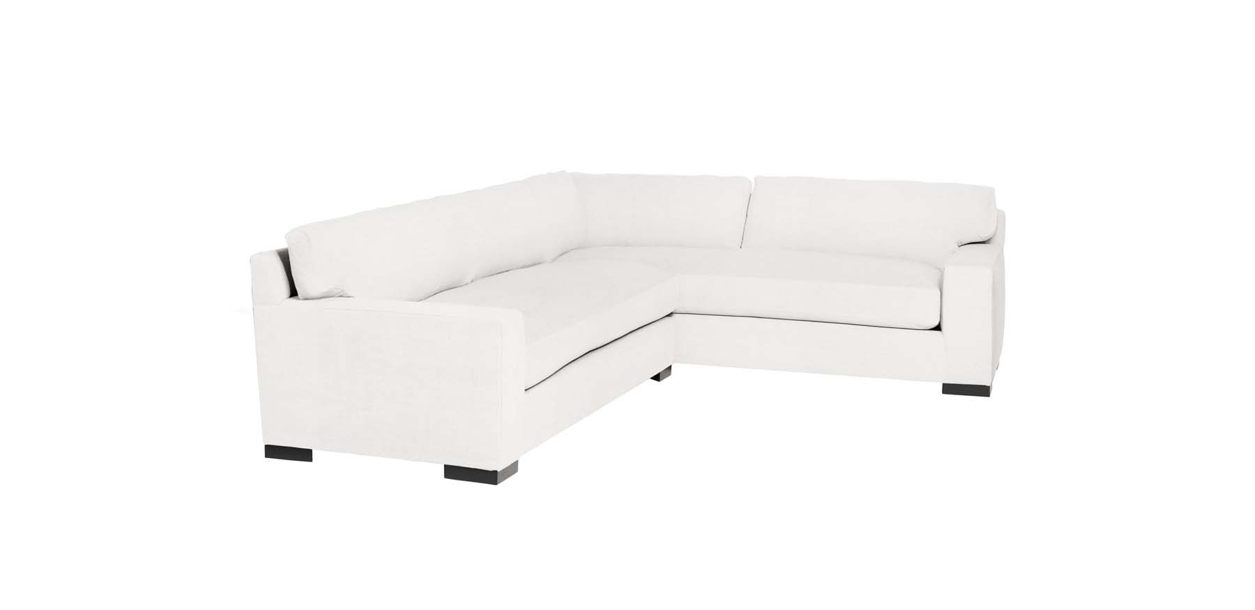 Pierre 2 - Piece Sectional - Organic White