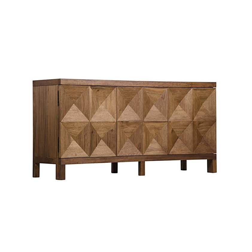 Seabright 3 - Door Sideboard - Dark Walnut