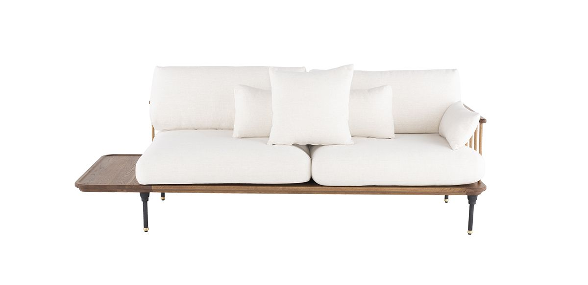 Kenmore Sofa - Hard Fumed Oak
