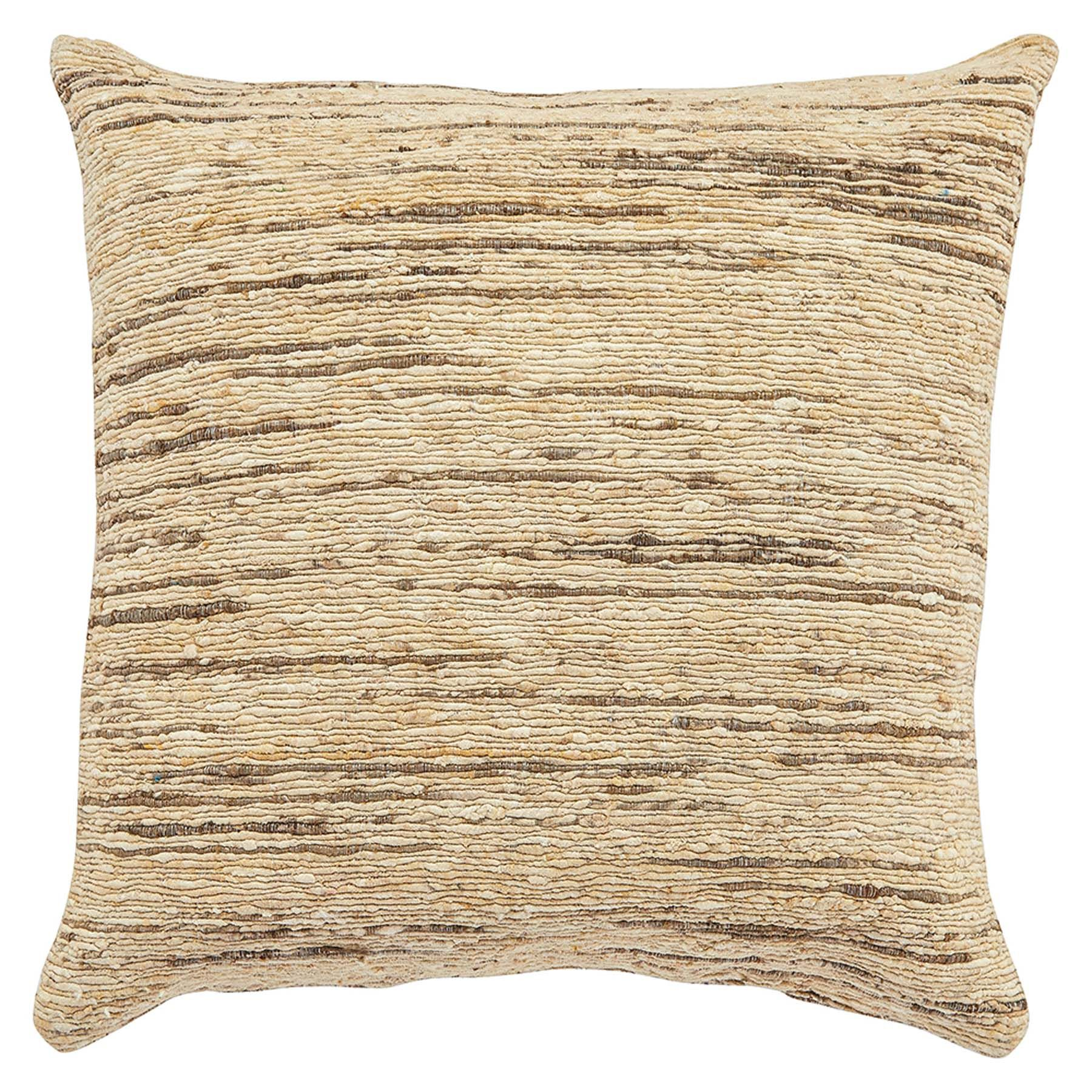 "Maj Pillow - Beige, 22""x22"""