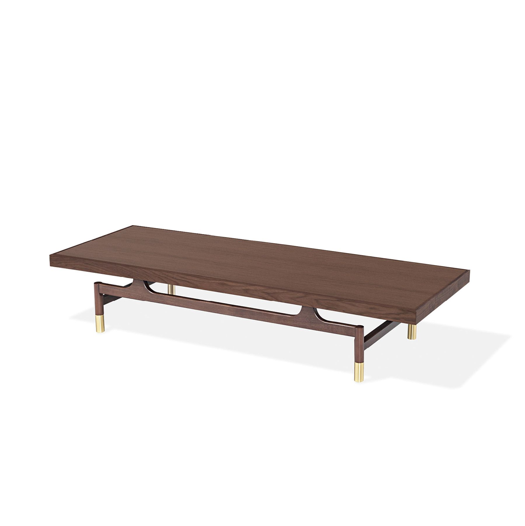 Gates Coffee Table - Walnut, Small