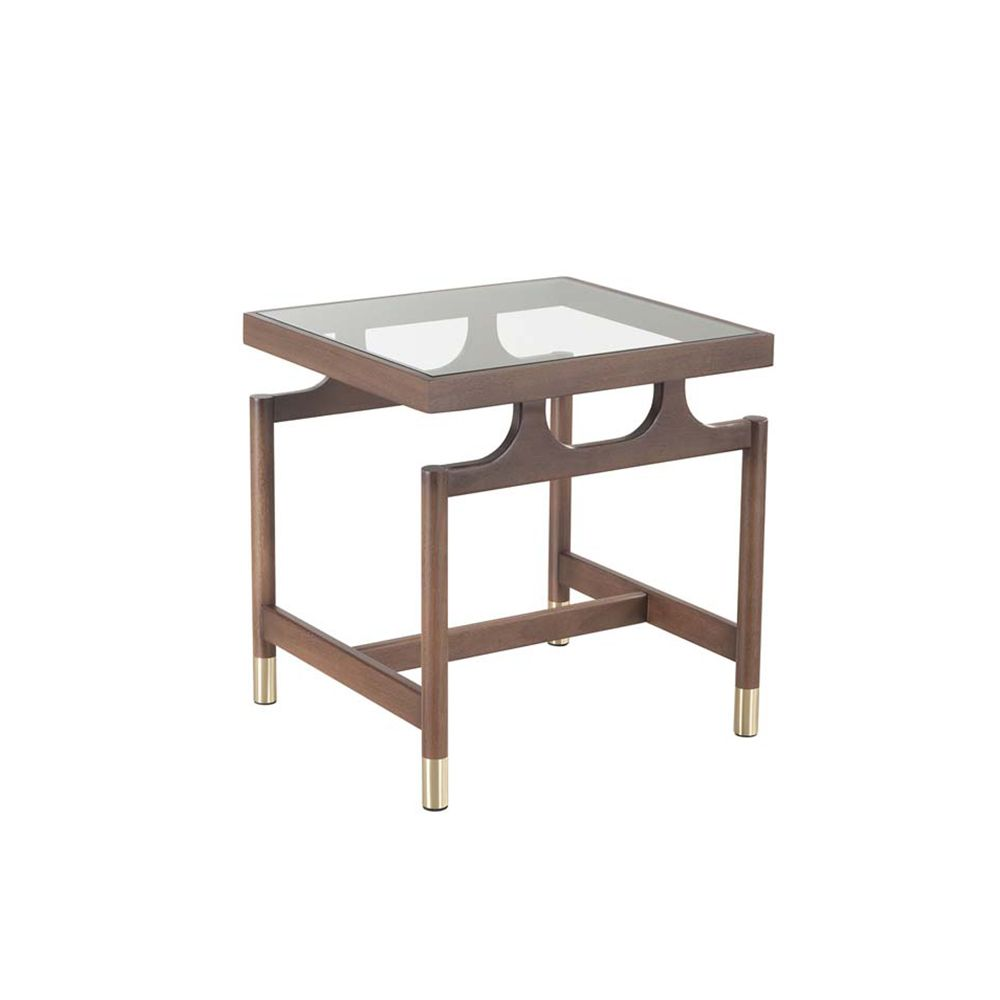 Gates Glass Side Table