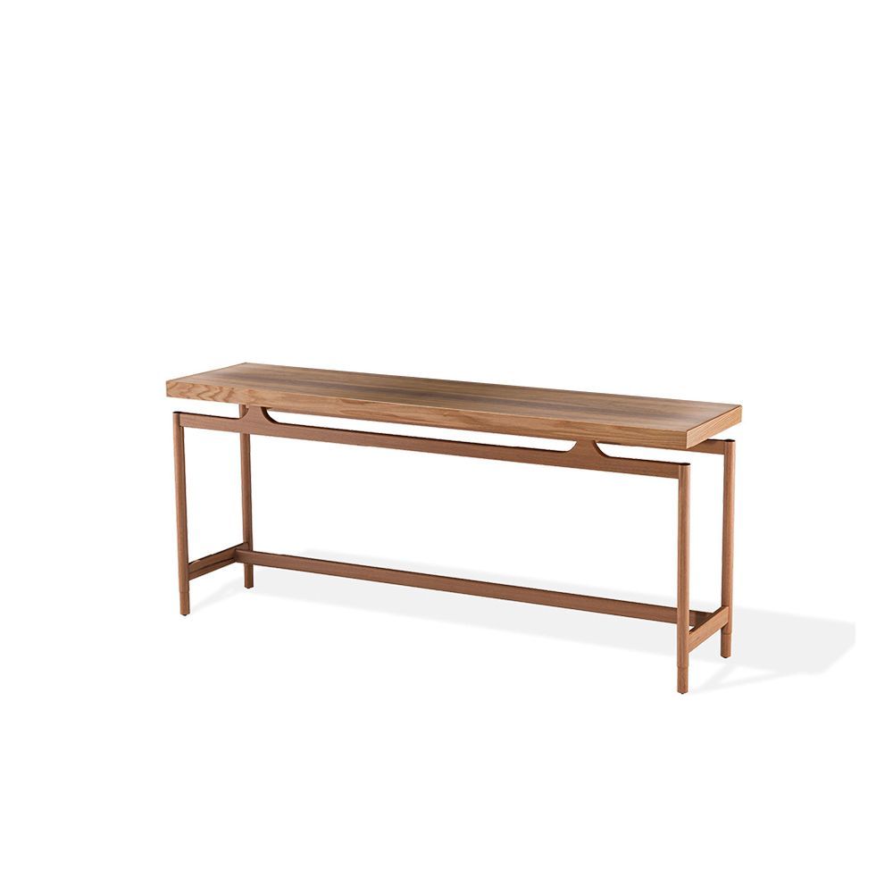 Gates Console Table - Royal Mahogany and Walnut