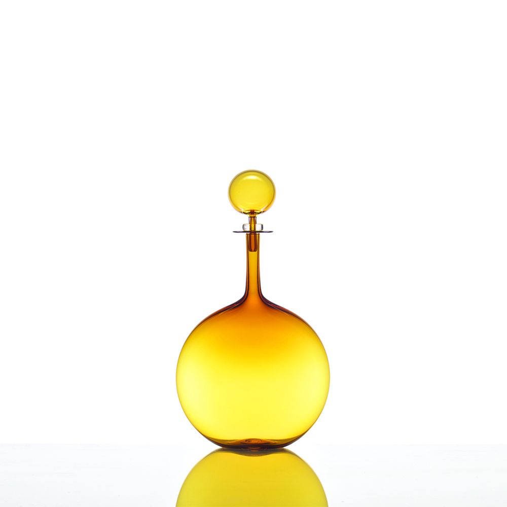 Petite Decanter Flask - Amber