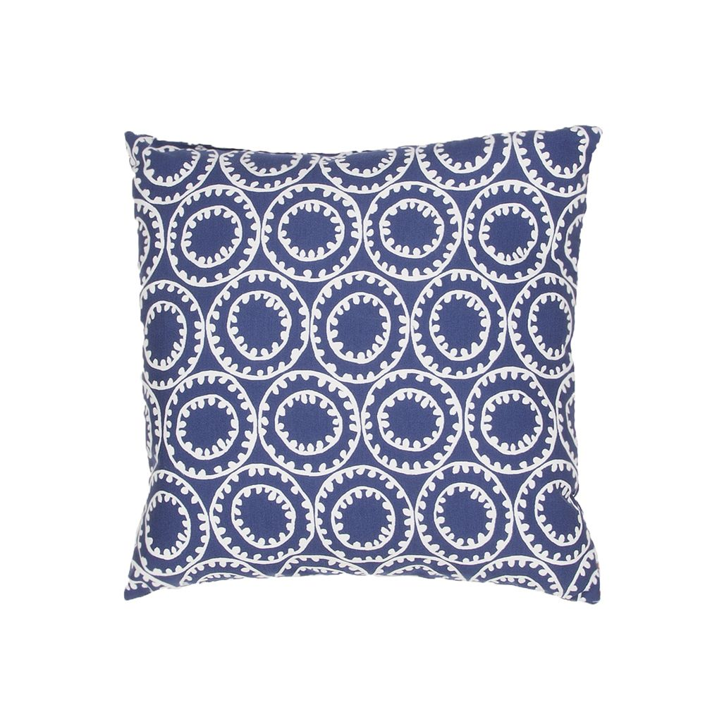"Veronica Pillow - Blue, 18""x18"""