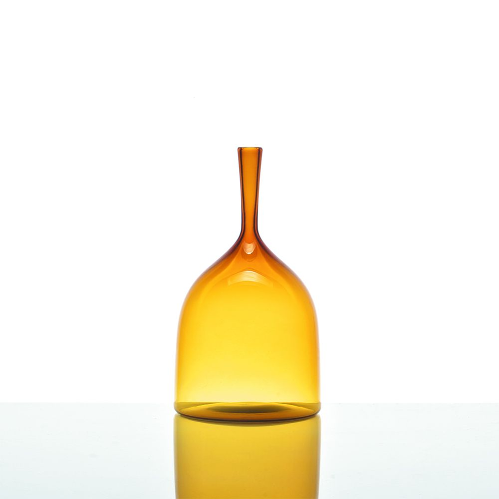 Wide Angelic Bottle - Amber