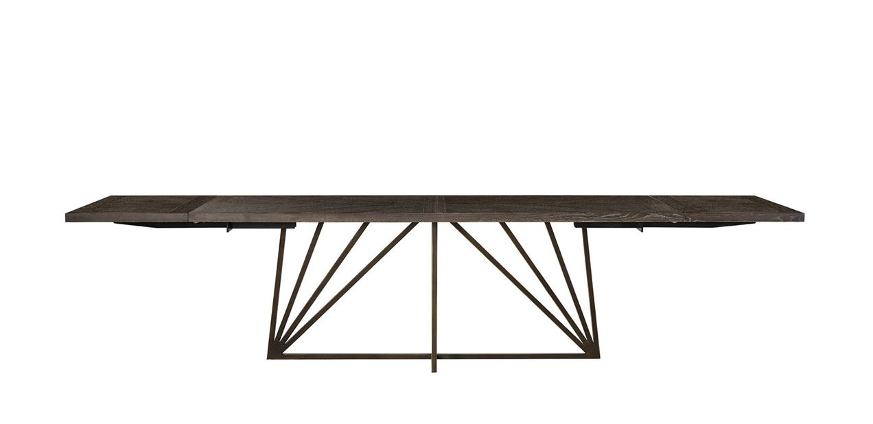 """Whitfield Extendable Dining Table, 88"""""""