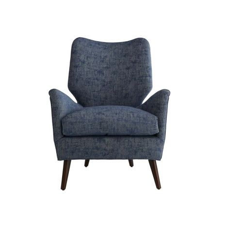 Addison Chair - Blue Jacquard