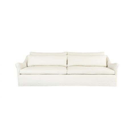 Bridgehampton Slipcovered Sofa - Premium Ivory, 108