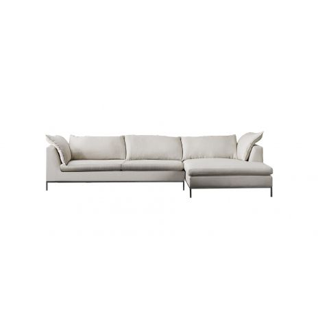Gramercy Sectional - Light Grey, 131