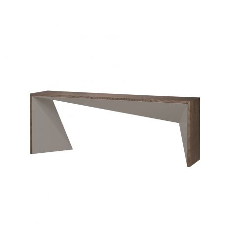 Wharton Console Table - Walnut and Fendi Lacquer, 79