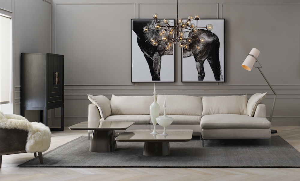 Uptown Collection: Formal Living With a Modern Touch
